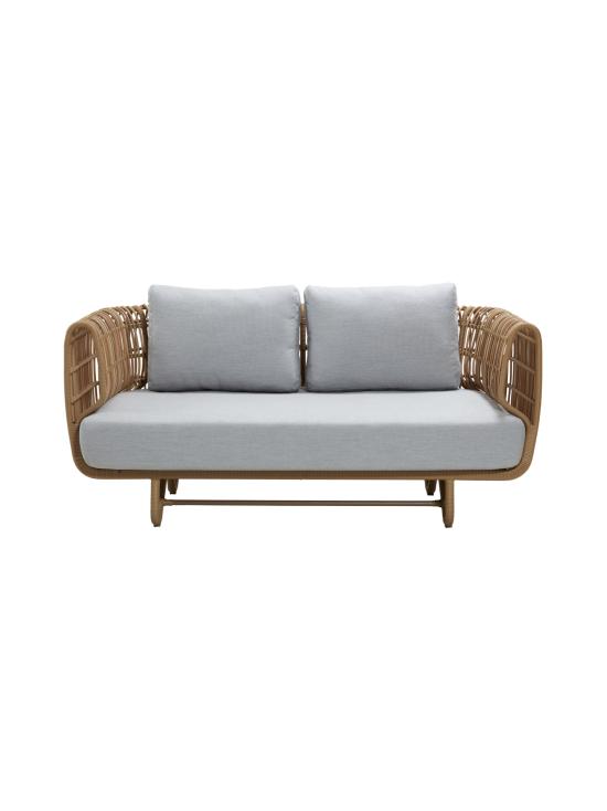 Cane-Line - Nest -kahden istuttava sohva - NATURAL, VAALEAN HARMAA | Stockmann - photo 1