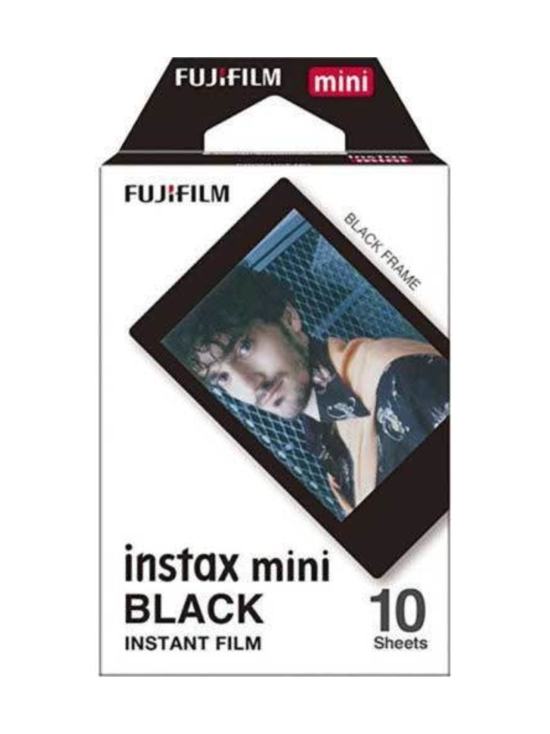 Fujifilm - Fujifilm Instax Film Mini Black Frame (10 kuvaa) pikafilmi | Stockmann - photo 1
