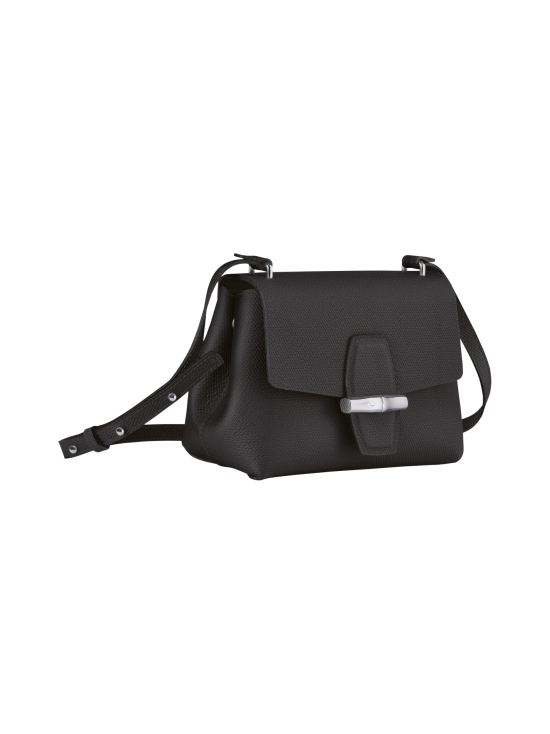 Longchamp - Roseau - Crossbody bag S - Nahkalaukku - BLACK   Stockmann - photo 3