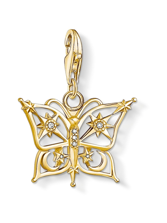 Thomas Sabo - Thomas Sabo pendant butterfly star and moon gold -hela | Stockmann - photo 1