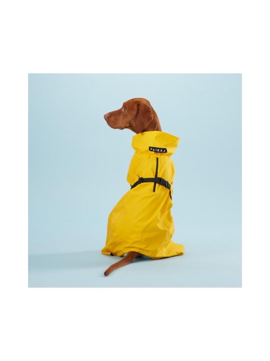 PAIKKA - Visibility Raincoat Lite Yellow for Dogs - 6   Stockmann - photo 5