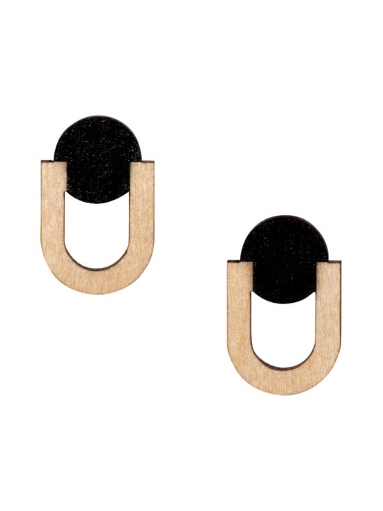YO ZEN - Future -mininappikorvakorut, musta - MUSTA | Stockmann - photo 1