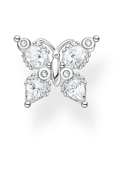 Thomas Sabo - Thomas Sabo Single Ear Stud Butterfly White Stone -korvakoru | Stockmann - photo 1