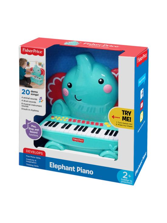 Fisher-Price - FISHER PRICE Elefantti Piano - null   Stockmann - photo 1