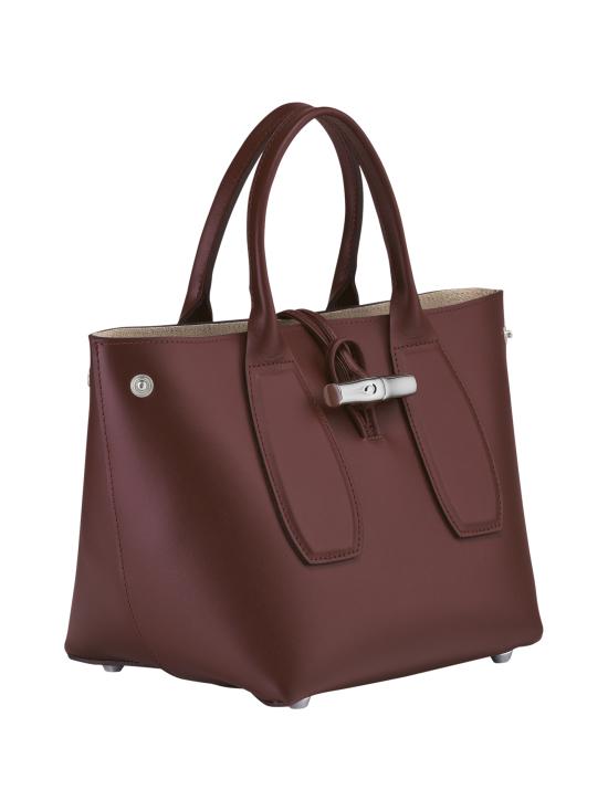 Longchamp - Roseau Box - Cube Bag - Nahkalaukku - MAHOGANY | Stockmann - photo 3