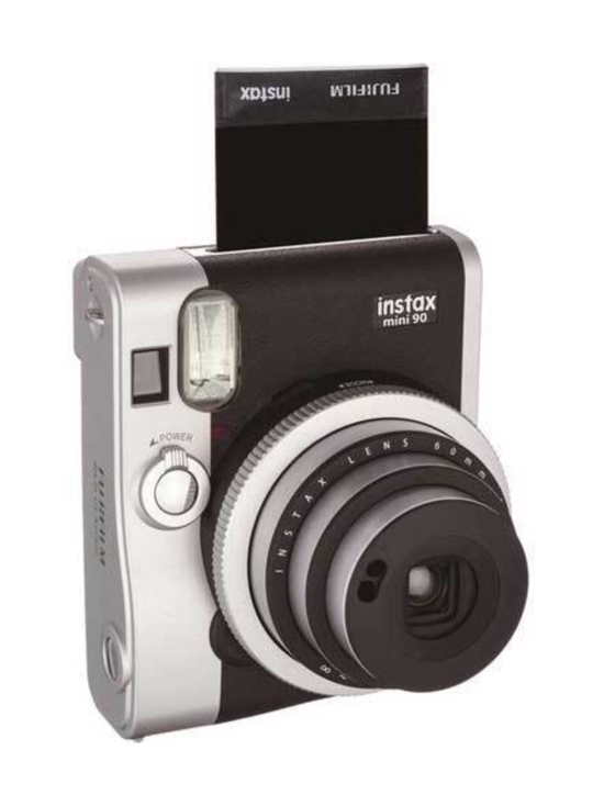 Fujifilm - Fujifilm Instax Mini 90 Neo Classic pikakamera - Musta   Stockmann - photo 2
