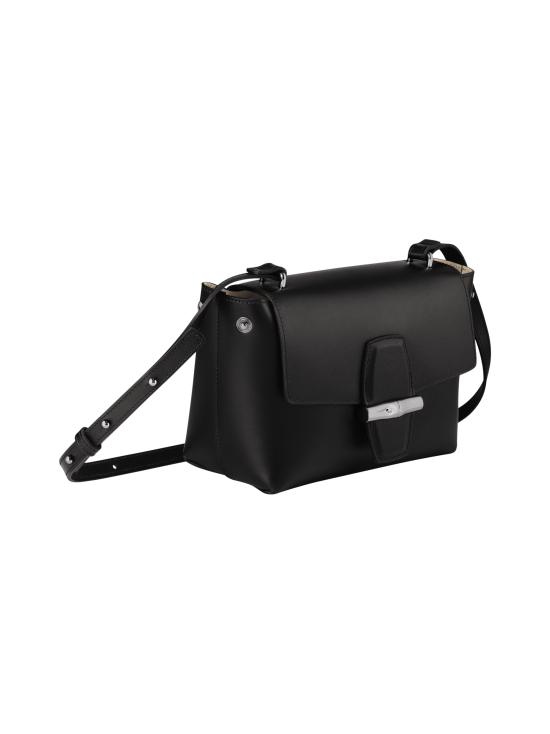 Longchamp - Roseau Box Crossbody Bag - Nahkalaukku - BLACK   Stockmann - photo 3