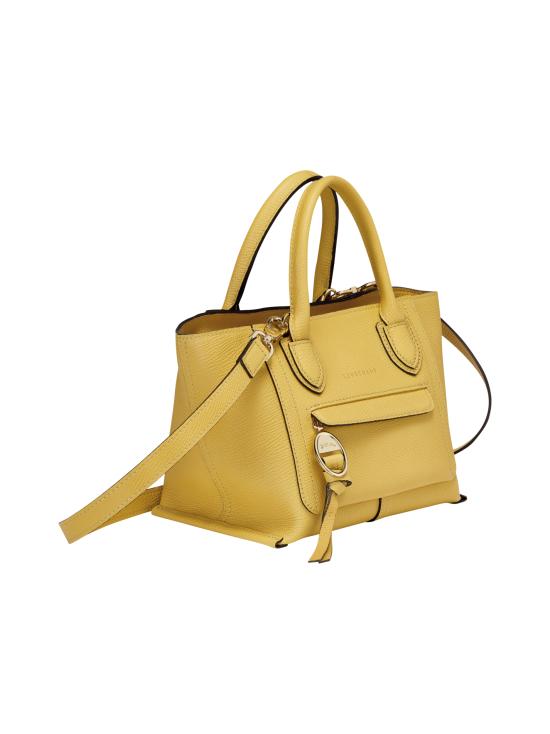 Longchamp - Mailbox Top Handle Bag S - Nahkalaukku - YELLOW | Stockmann - photo 2