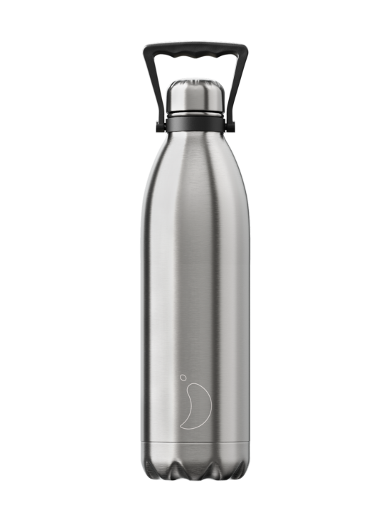 Chilly's - Steinless -juomapullo 1800 ml - STEINLESS STEEL | Stockmann - photo 1