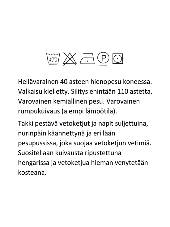 BELIEVE by tuula rossi - GRACE Black Huppullinen Pitkä Tikkitakki - BLACK, MUSTA | Stockmann - photo 10