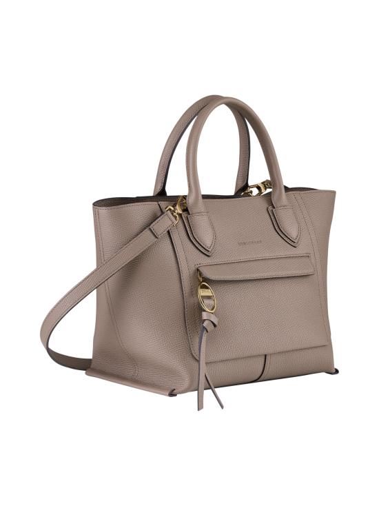 Longchamp - Mailbox Top Handle Bag M - Nahkalaukku - TAUPE | Stockmann - photo 2