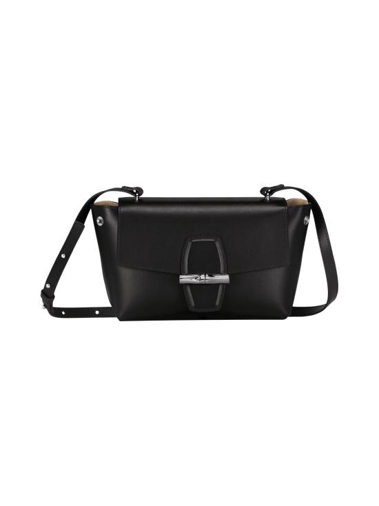 Longchamp - Roseau Box Crossbody Bag - Nahkalaukku - BLACK   Stockmann - photo 2