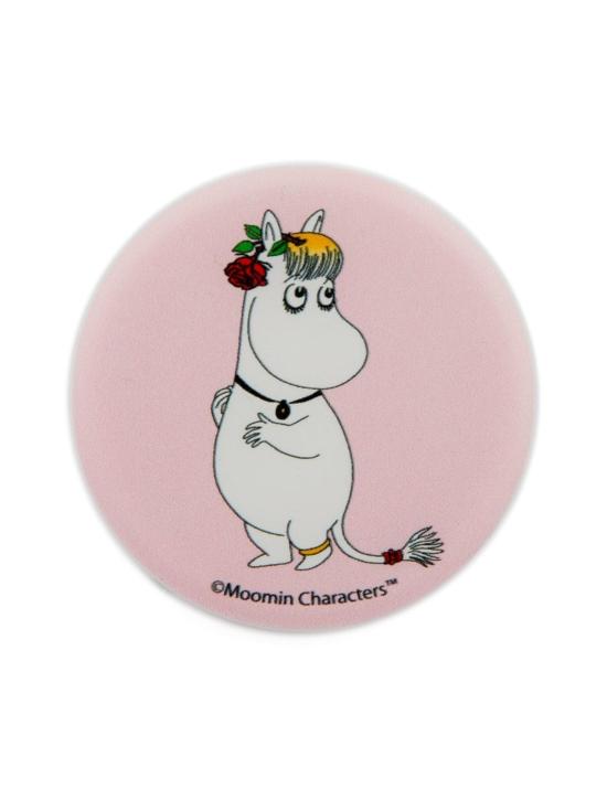 Popsockets - PopSockets Moomin Snorkmaiden & Rose -puhelimen pidike - VAALEANPUNAINEN | Stockmann - photo 1