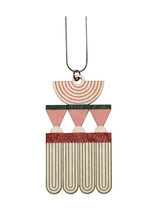 YO ZEN - Art Deco -kaulakoru, printattu koivu - MULTI | Stockmann - photo 1