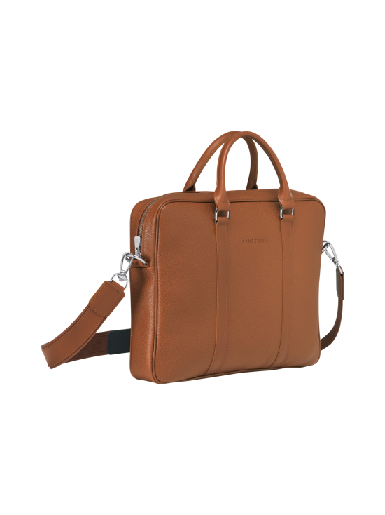 Longchamp - Le Foulonné - Briefcase XS - Salkku - CARAMEL | Stockmann - photo 3
