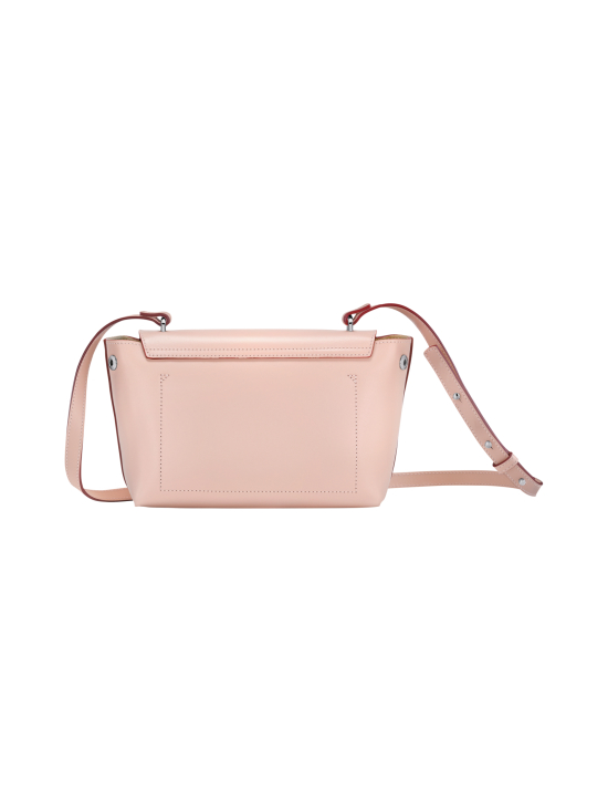 Longchamp - Roseau Box Crossbody Bag - Nahkalaukku - POWDER | Stockmann - photo 4
