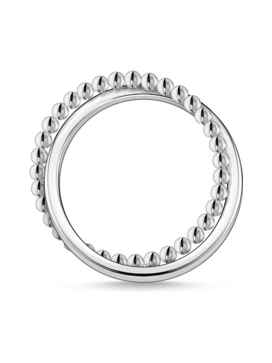 Thomas Sabo - Thomas Sabo Ring Double Dots Silver -sormus | Stockmann - photo 2