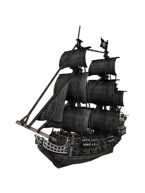 Cubic Fun - CUBICFUN 3D palapeli Laiva Queen Ann´s Revenge | Stockmann - photo 3