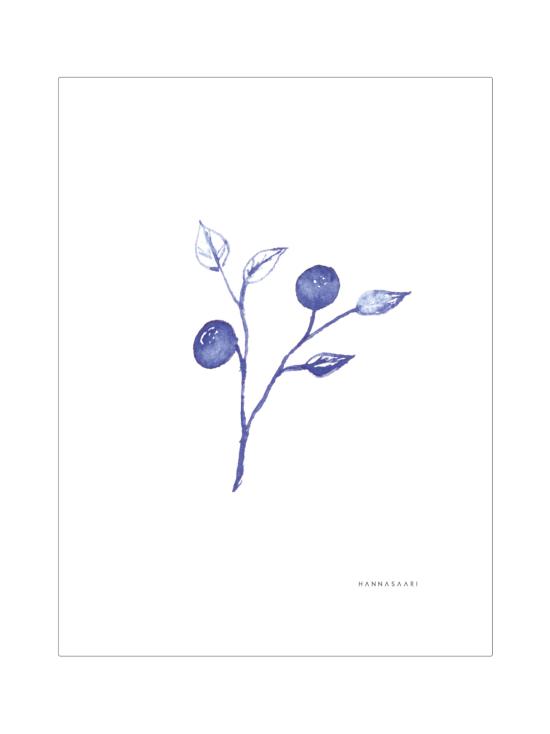 HANNASAARI - Mustikka juliste 30x40 - 5 | Stockmann - photo 1