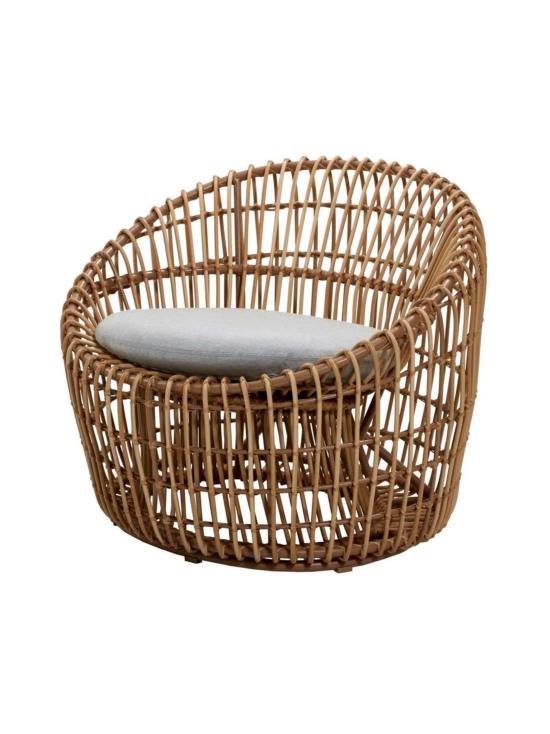 Cane-Line - Nest Round -tuoli - NATURAL, VAALEAN HARMAA   Stockmann - photo 2