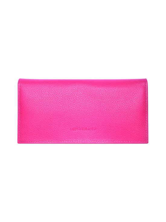 Longchamp - Le Foulonné – Long Continental Wallet – Nahkalompakko - ROSE | Stockmann - photo 1