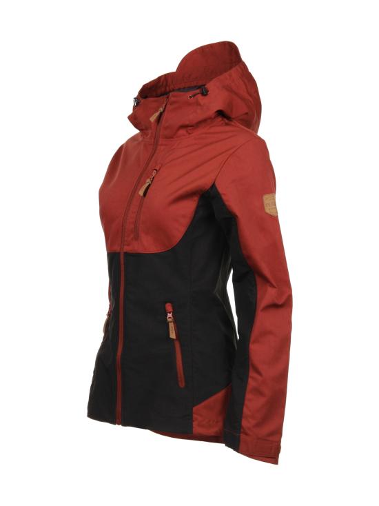 Ivalo - JUVA Naisten outdoor takki - RED/BLACK | Stockmann - photo 2