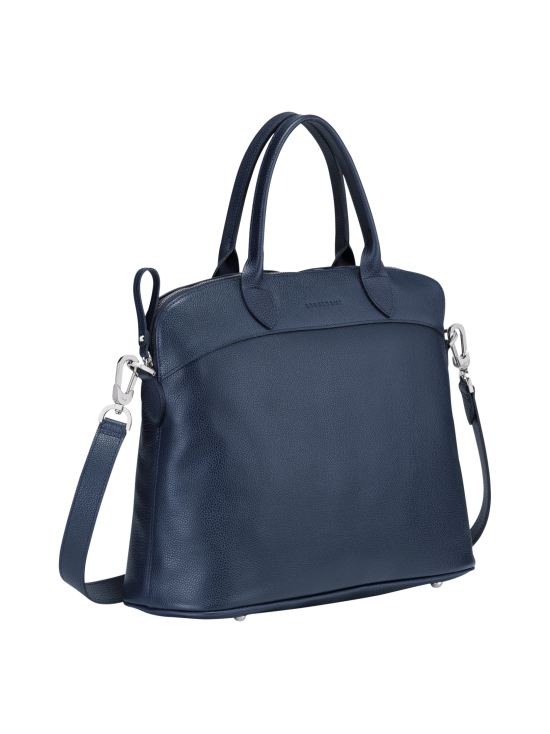 Le Foulonné Top Handle Bag M - Nahkalaukku