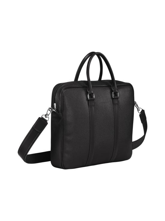 Longchamp - Le Foulonné - Briefcase S - Salkku - BLACK   Stockmann - photo 2