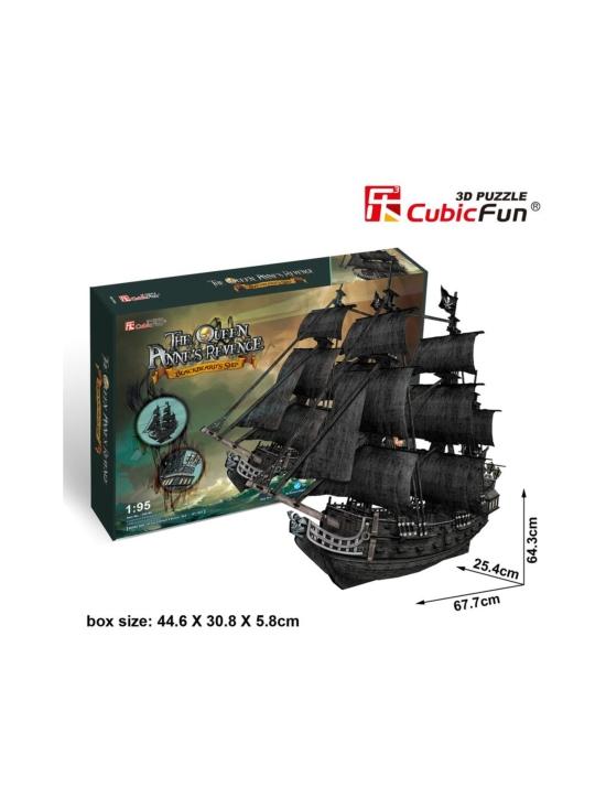 Cubic Fun - CUBICFUN 3D palapeli Laiva Queen Ann´s Revenge | Stockmann - photo 1