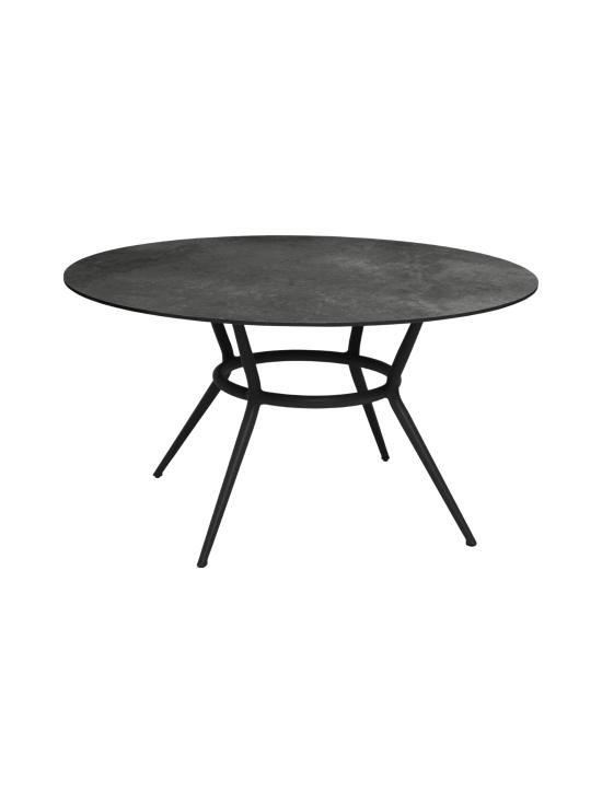 Cane-Line - Joy-ruokapöytä 144 halk x 72 cm - LAVA GREY TUMMA HARMAA, TUMMA HARMAA KUVIOITU | Stockmann - photo 1