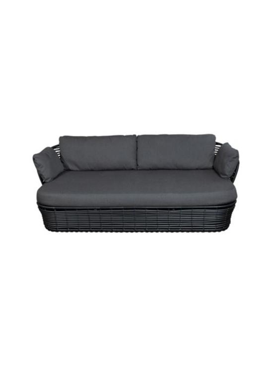 Cane-Line - Basket -kahden istuttava sohva - HARMAA | Stockmann - photo 1
