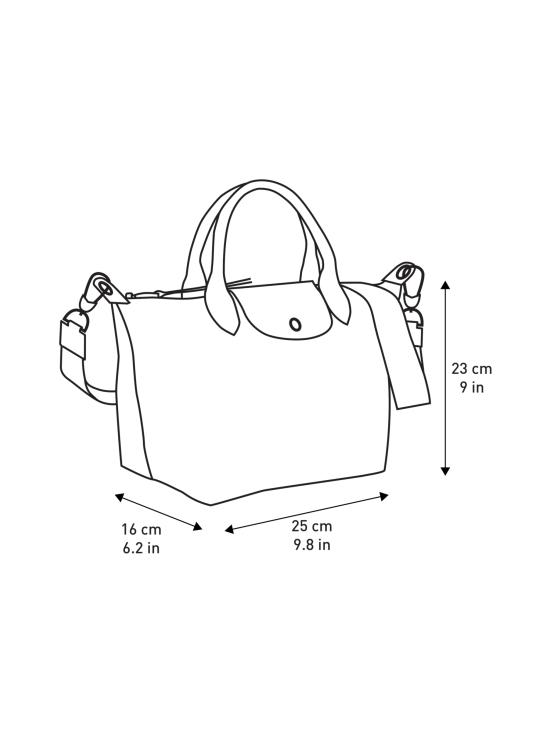 Longchamp - Le Pliage LGP Top Handle Bag S - Käsilaukku - BLACK/NAVY | Stockmann - photo 4