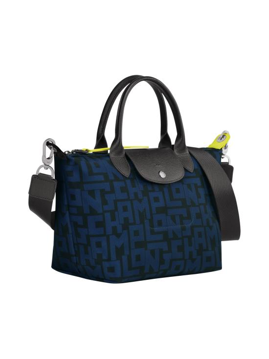 Longchamp - Le Pliage LGP Top Handle Bag S - Käsilaukku - BLACK/NAVY | Stockmann - photo 2