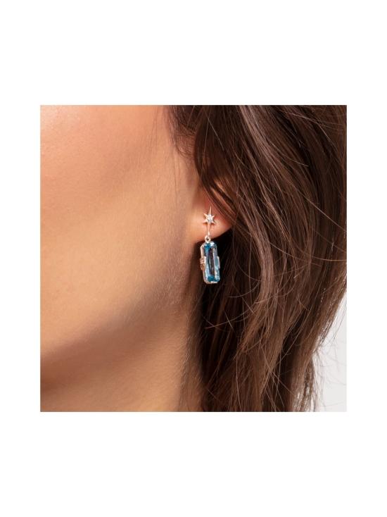 Thomas Sabo - Thomas Sabo Ear Studs Blue Stone With Star -korvakorut | Stockmann - photo 2