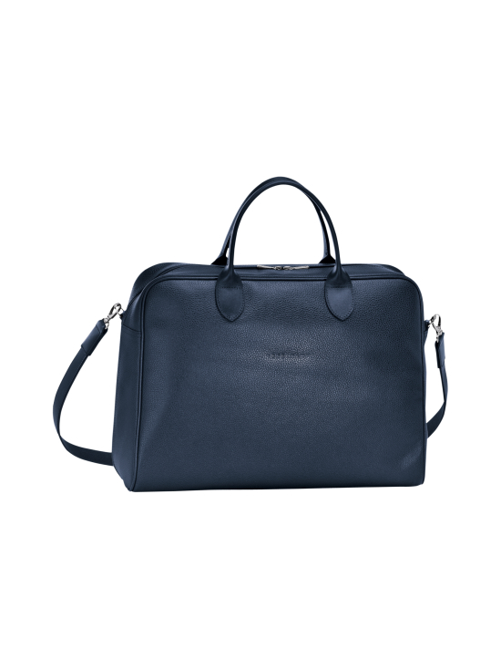 Longchamp - Le Foulonné - Briefcase L - Salkku - NAVY | Stockmann - photo 1