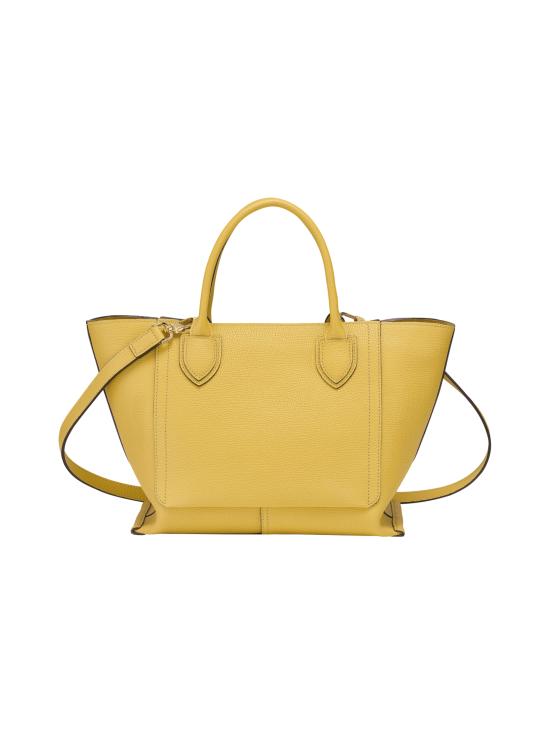 Longchamp - Mailbox Top Handle Bag M - Nahkalaukku - YELLOW | Stockmann - photo 3