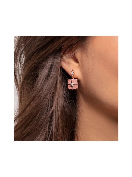 Thomas Sabo - Thomas Sabo Ear Studs Pink Stone with Star -korvakorut   Stockmann - photo 2