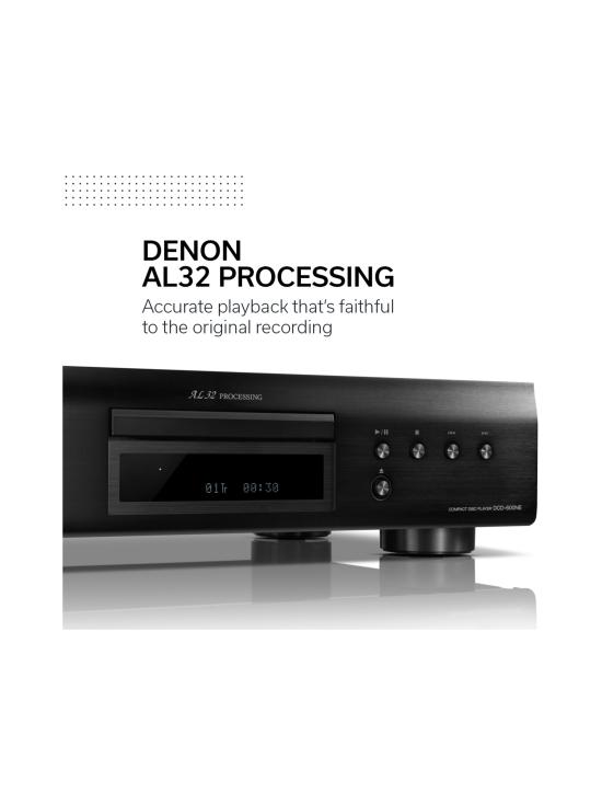 Denon - Denon DCD-600NE CD-soitin, musta | Stockmann - photo 3