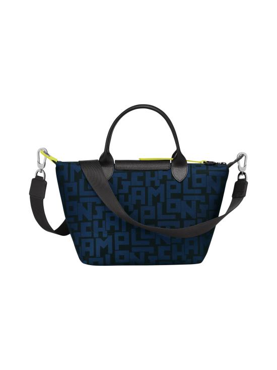 Longchamp - Le Pliage LGP Top Handle Bag S - Käsilaukku - BLACK/NAVY | Stockmann - photo 3