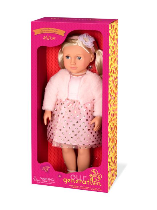 Our Generation - OUR GENERATION Millie -nukke vaalenapunaisessa mekossa - null | Stockmann - photo 1