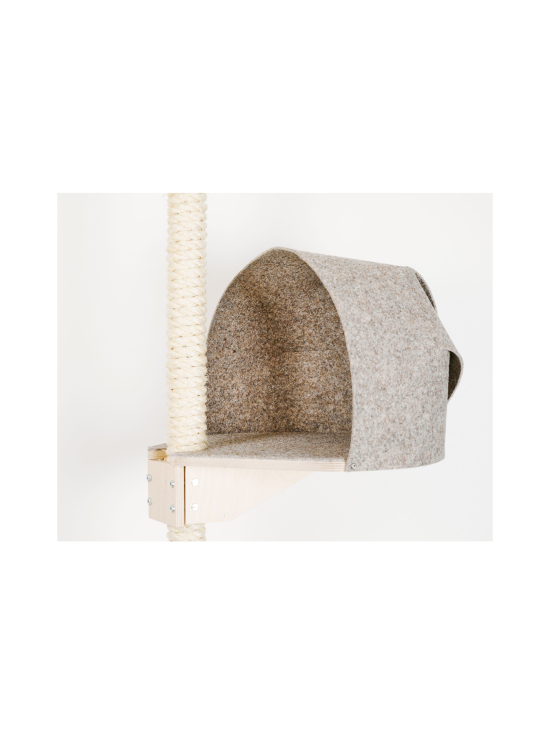 Kissapuu - Kissan Unelma kiipeily- ja raapimispuu, tammi & beige   Stockmann - photo 4