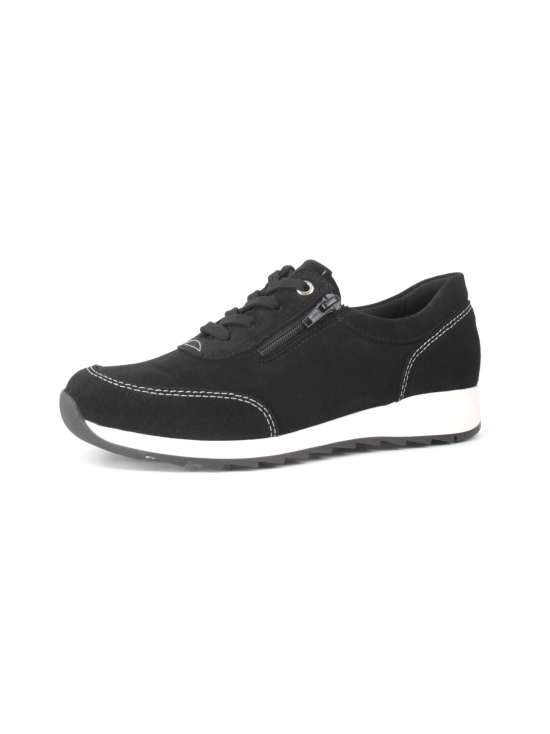 Pomar - MARJA Naisten Tennarit - BLACK SUEDE (WHT S) | Stockmann - photo 1