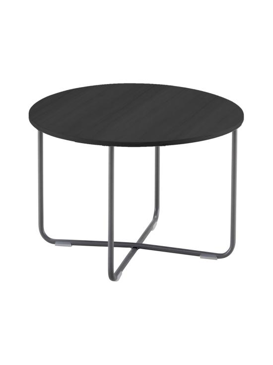 HT Collection - Nordic -sohvapöytä, Tumma ∅ 60 cm - MUSTA | Stockmann - photo 1