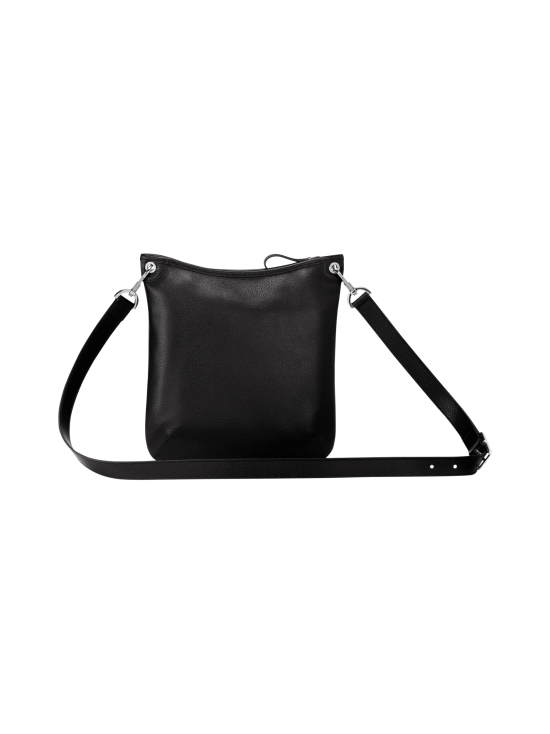 Longchamp - Le Foulonné Crossbody Bag - Nahkalaukku - BLACK | Stockmann - photo 3