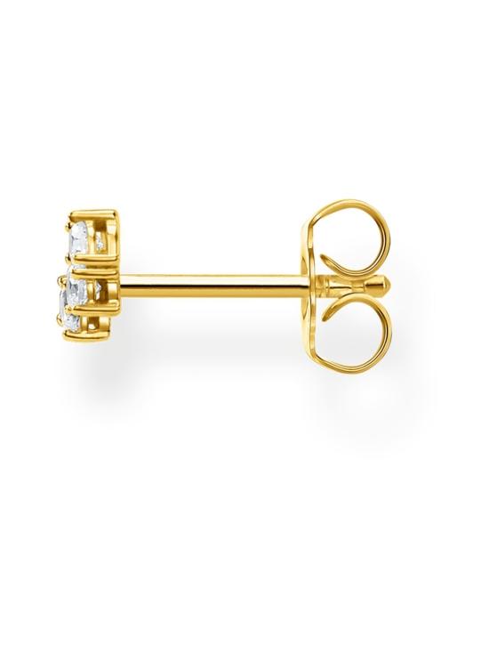 Thomas Sabo - Thomas Sabo Single Ear Stud White Stones Gold -korvakoru | Stockmann - photo 2
