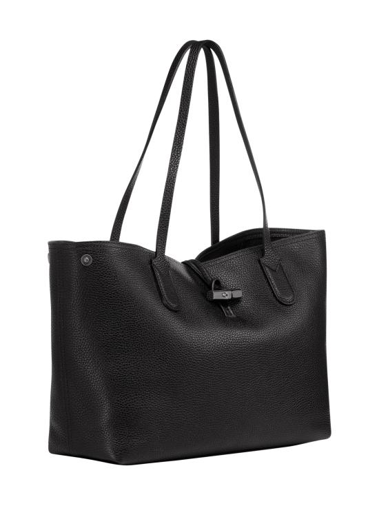 Longchamp - Roseau Essential - Shoulder Bag M - Nahkalaukku - BLACK   Stockmann - photo 2
