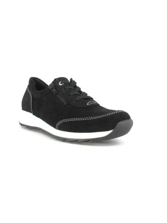 Pomar - MARJA Naisten Tennarit - BLACK SUEDE (WHT S) | Stockmann - photo 8