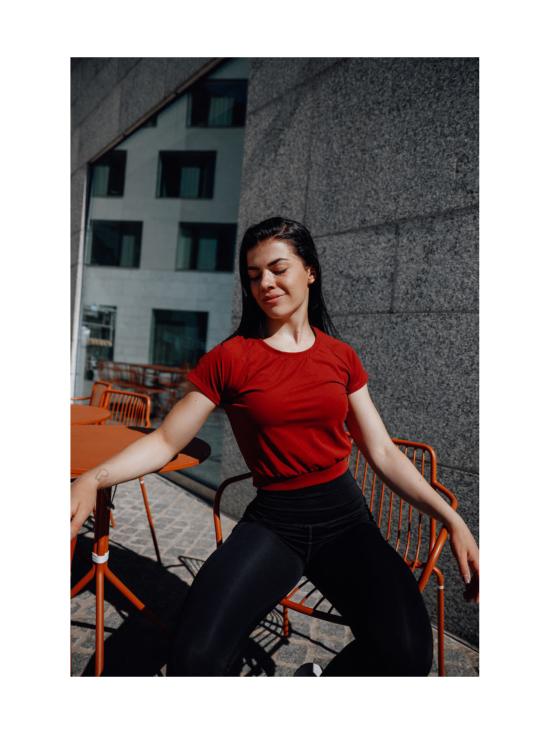Yvette Evelina T-paita, punainen
