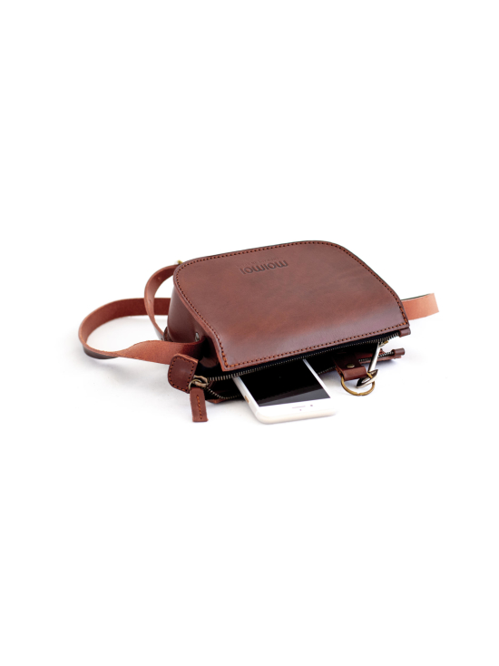 MOIMOI accessories - LAURA pieni laukku ruskea - RUSKEA | Stockmann - photo 3