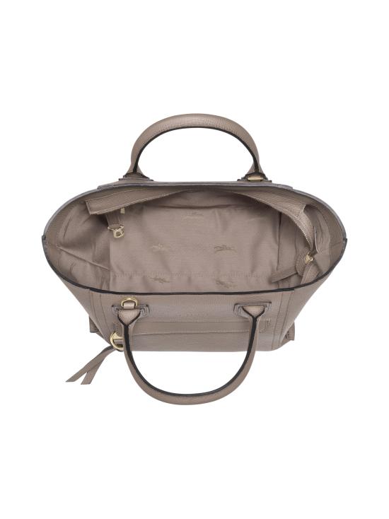 Longchamp - Mailbox Top Handle Bag M - Nahkalaukku - TAUPE | Stockmann - photo 4